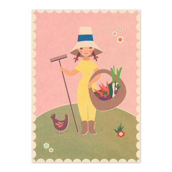 "Postkarte ""Gartenfreude"""