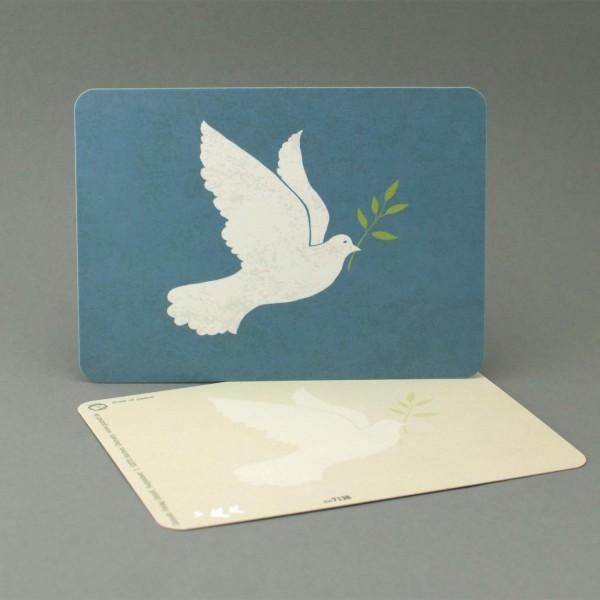Postkarte Friedenstaube