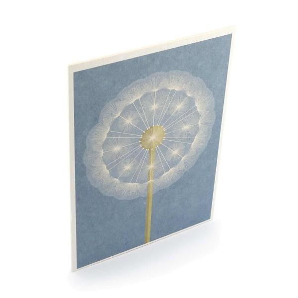 Postkarte Pusteblume online kaufen - Seitenansicht