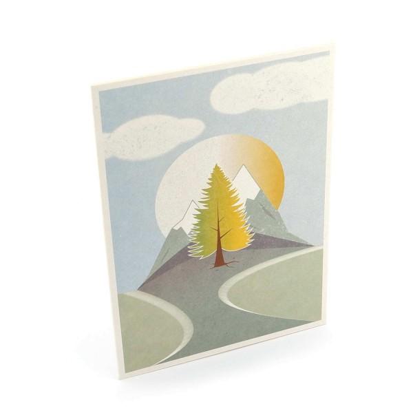 """Postkarte """"In der Mitte steht ein Baum"""""""
