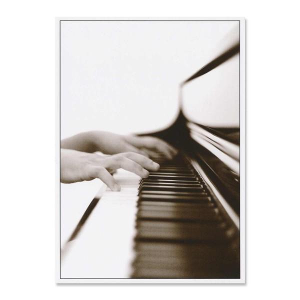 """Postkarte """"Piano"""""""