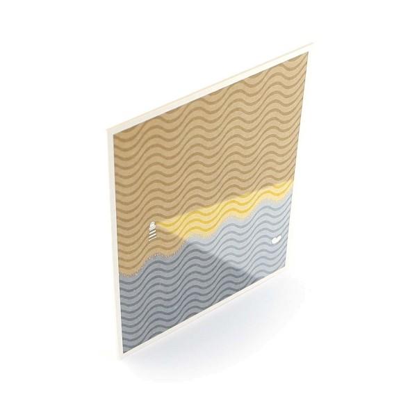 Postkarte aus Finnpappe