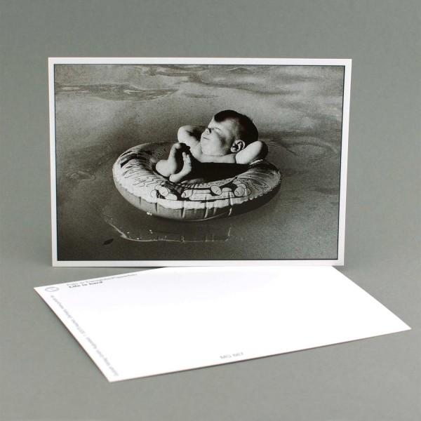 """Postkarte """"Entspanntes Baby"""""""
