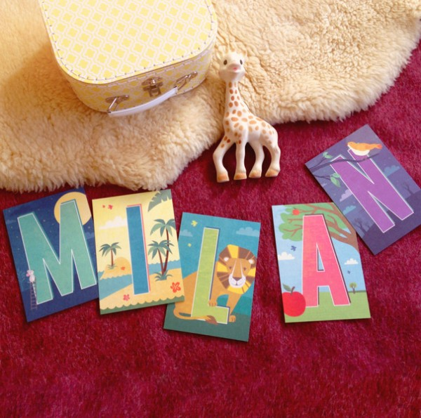 Buchstabenkarte M
