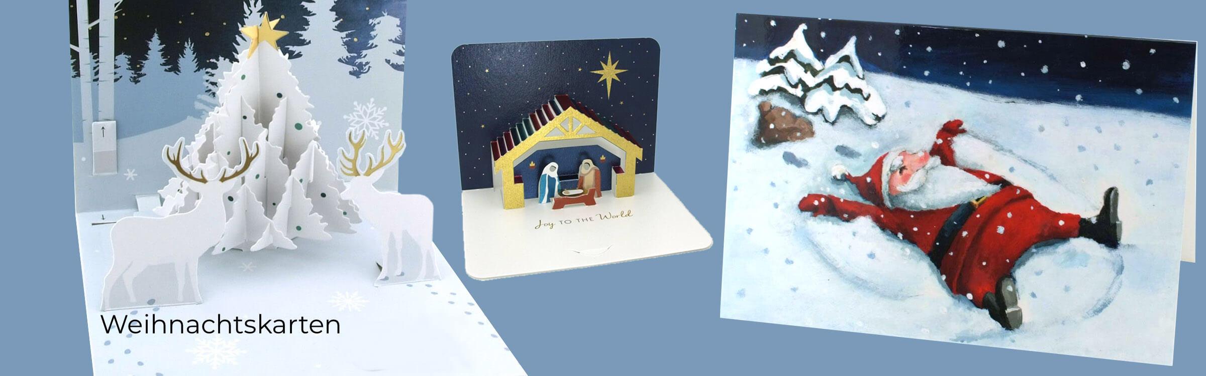 Weihnachtskarten kaufen - hier im Online-Shop -Advent