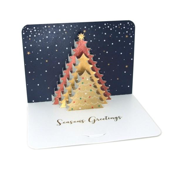 """Pop-up-Karte """"Weihnachtsbaum"""""""