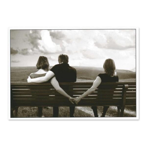 Postkarte Freundschaft plus