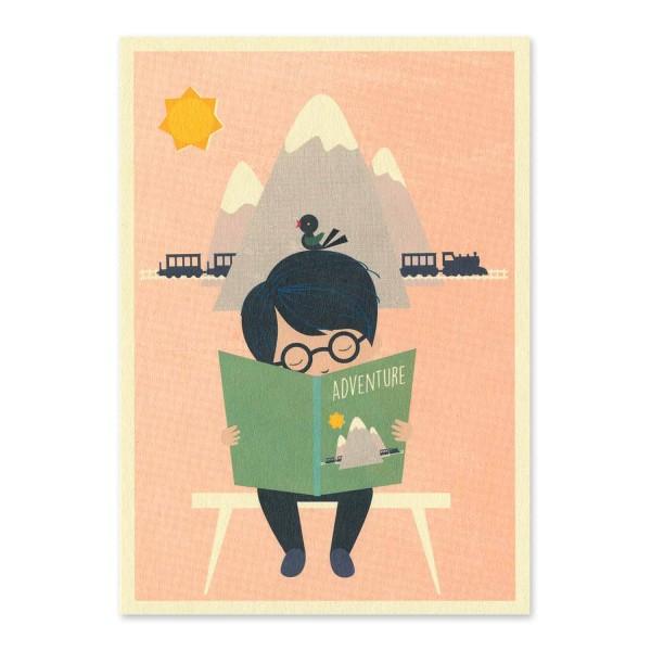 "Postkarte ""Abenteuer"""