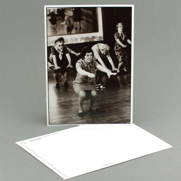 "Postkarte ""Gymnastik"""