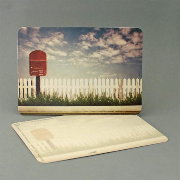 Postkarte Briefkasten