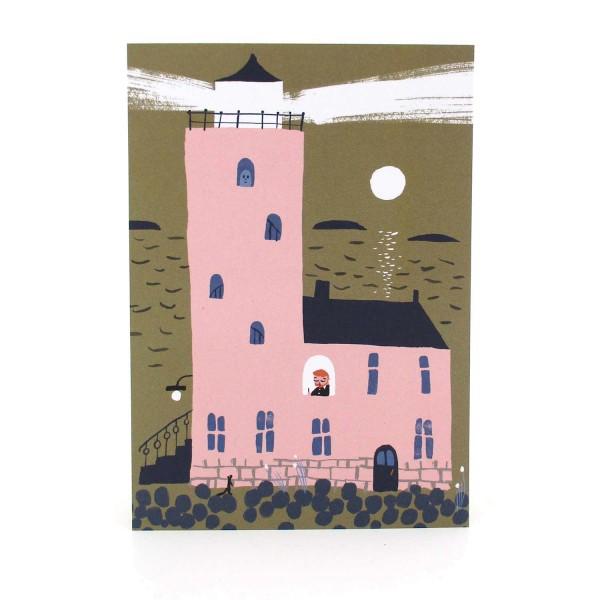 Postkarte Leuchtturm