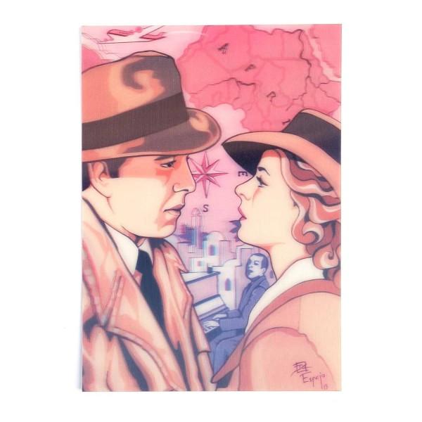 Hologrammkarte Schau mir in die Augen...