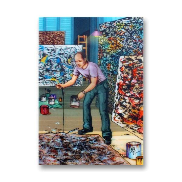 "Postkarte / 3D-Hologrammkarte Künstler Juan Carlos Espejo ""Atelier"" kaufen"