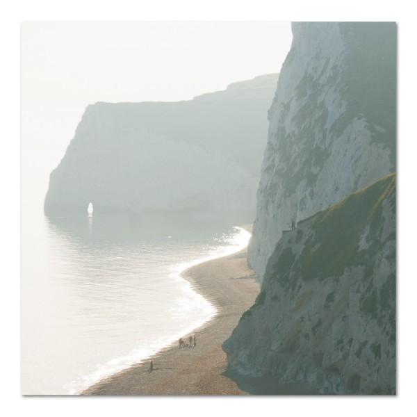 Klappkarte Felsentor, Küste in England
