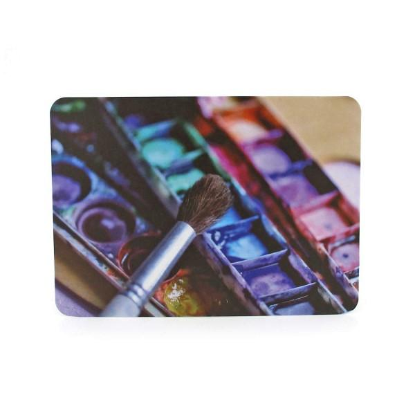Postkarte Zeit zum Malen