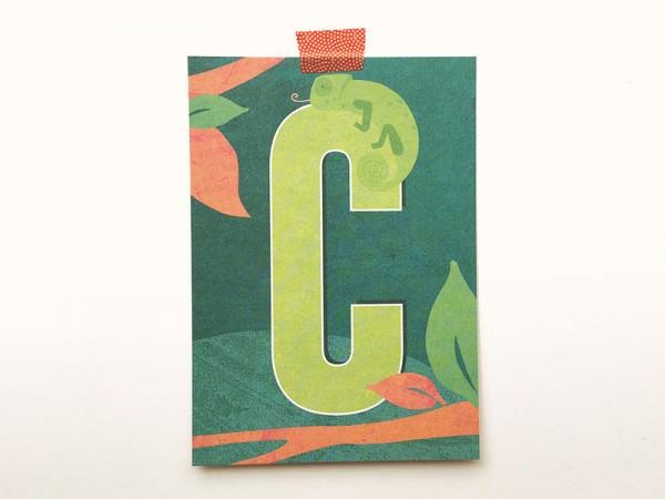 Buchstabenkarte C