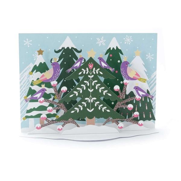 """Pop-up-Karte """"Fröhliche Weihnachten"""""""
