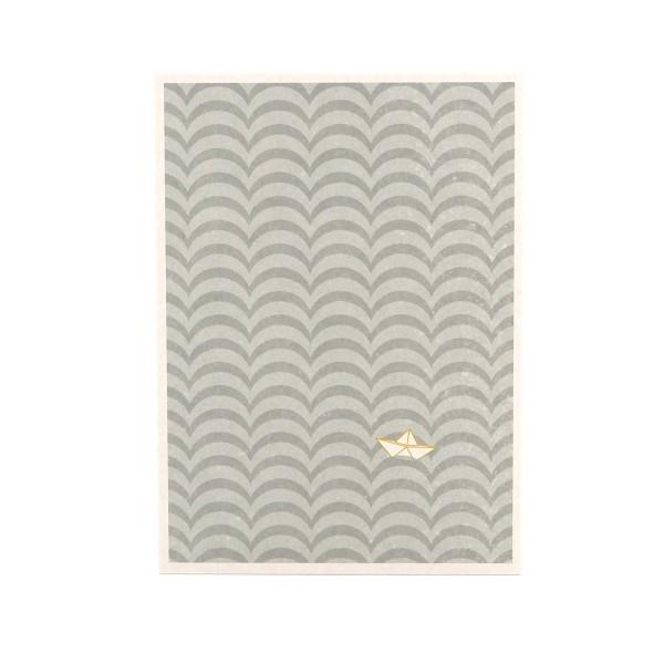 "Postkarte ""Papierboot"" online kaufen - Grußkarte Misuki"