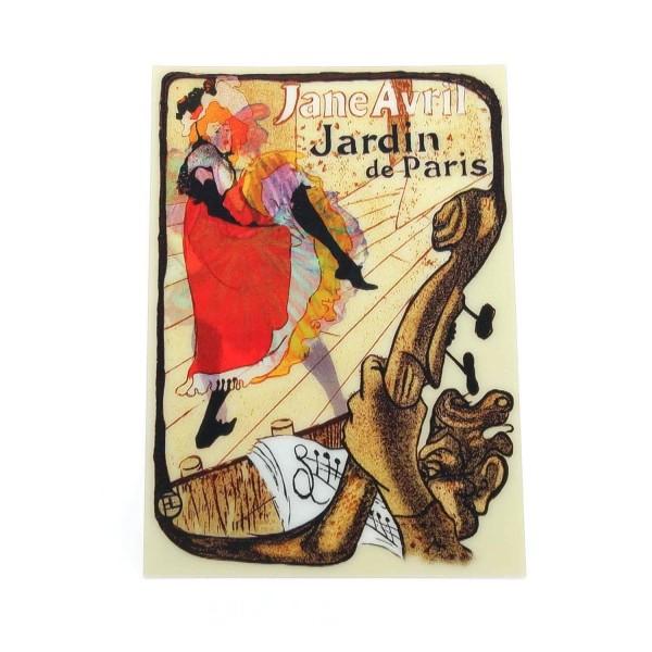 Wackelkarte Toulouse Lautrec