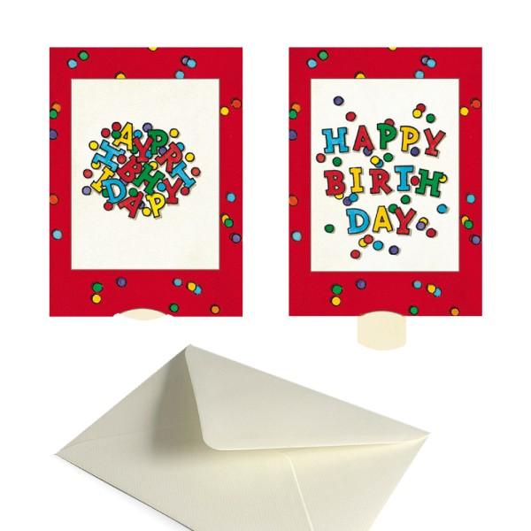 Geburtstagskarte Happy Birthday - Lebende Karte Glückwünsche | Der ...