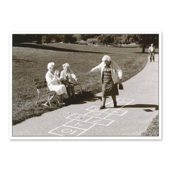 """Postkarte """"Das Kind in ihr"""""""