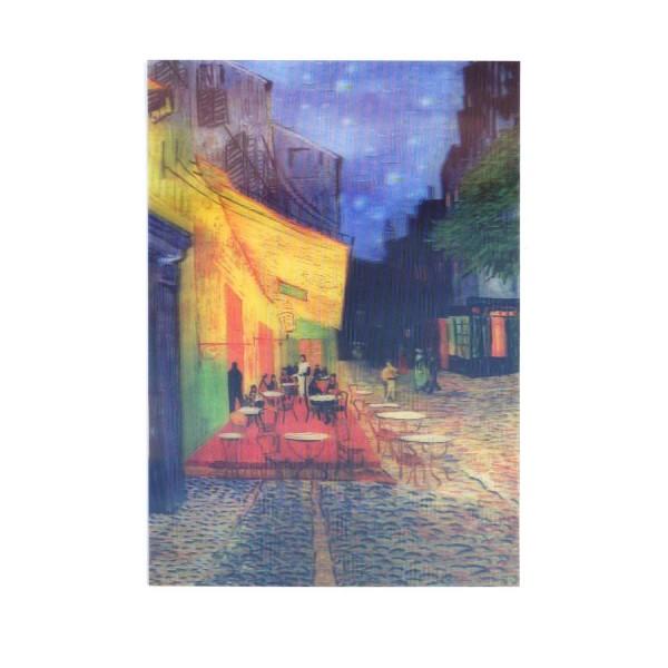 Hologrammkarte Cafe in Arles