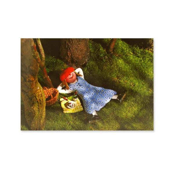 Postkarte Rotkäppchen