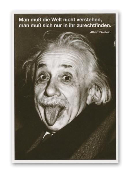Postkarte Albert Einstein