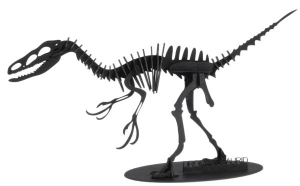 Bastelkarte Dromeosaurus