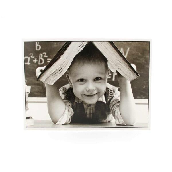 Postkarte Lesen macht Spass