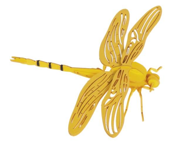 Bastelkarte Libelle