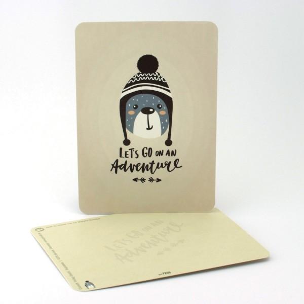 Postkarte Abenteurer