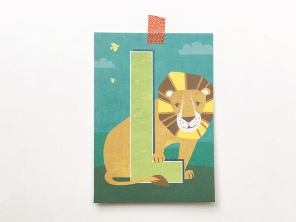 Buchstabenkarte K