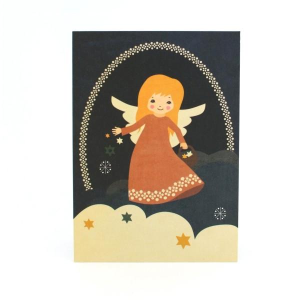 Engel-Postkarte