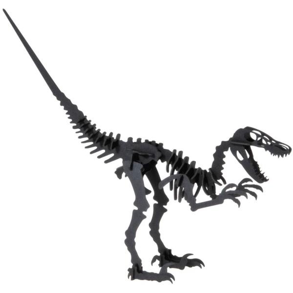 Bastelkarte Velociraptor