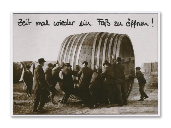 Postkarte Party
