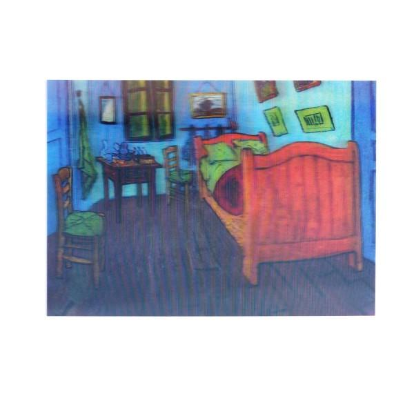 "Hologrammkarte ""Zimmer in Arles"""